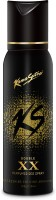 Kamasutra Black Xx Double Perfumed Body Spray  -  For Men (120 Ml)