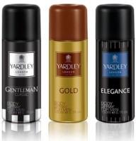 Yardley London Gentleman+Elegance+Gold Body Spray  -  For Men (150 Ml)