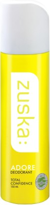 Buy Zuska Adore Deodorant Spray  -  150 ml: Deodorant