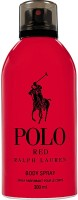 Ralph Lauren Polo Red Deodorant Spray  -  For Men, Boys (300 Ml)