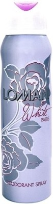 Lomani Sprays Lomani White Deodorant Spray