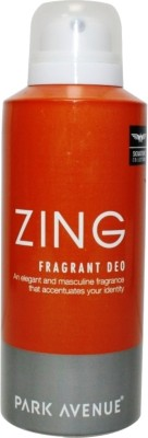 Buy Park Avenue Zing Fragrant Deodorant Spray  -  150 ml: Deodorant