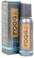 Fogg Bleu Skies Long Lasting Deodorant Body Spray  -  For Men (120 Ml)