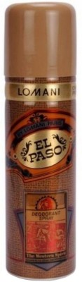Buy Lomani El Paso Deodorant Spray  -  200 ml: Deodorant