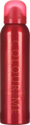Colour Me Sprays Colour Me Highly Perfumed Red Deodorant Spray For Women