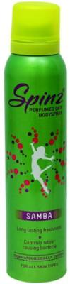 Spinz Sprays Spinz Samba Deodorant Spray For Men