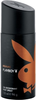 Buy Playboy Miami Deodorant Spray  -  150 ml: Deodorant