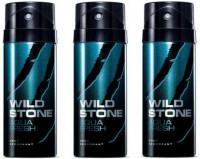 Wild Stone Aqua Fresh Body Spray  -  For Men (150 Ml)