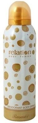 Rasasi Sprays Rasasi Relation Deodorant Spray For Women