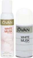Jovan White Musk For Women & Men Deodorant Spray  -  For Men, Women (300 Ml)