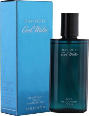 Davidoff Cool Water Deodorant Spray - 75 ml For Men