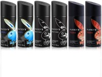 Playboy Malibu Hollywood Vegas Body Spray  -  For Men (900 Ml)
