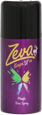 Zeva Keepz U On Sprays Zeva Keepz U On Deo Magic Deodorant Spray