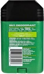 Brut Deodorants Brut Clear Deodorant Stick For Men