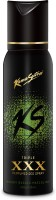 Kamasutra Black XXX Triple Perfumed Body Deodorant Spray  -  For Men (120 Ml)