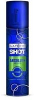 Layer'r Shot Absulute Craze Body Spray  -  For Men (135 Ml)
