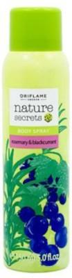 Oriflame Deodorants Oriflame Nature Secrets Body Spray Rosemary & Blackcurrant Body Spray For Girls Body Mist For Girls