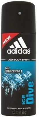 Buy Adidas Ice Dive Deodorant Spray  -  96 g: Deodorant