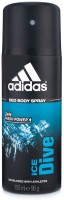 Adidas Ice Dive Deodorant Spray - 96 g: Deodorant