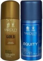 Yardley London Gold & Equity Body Spray  -  For Men (150 Ml)