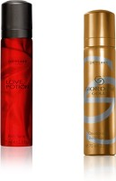 Oriflame Sweden Giordani & Love Portion Set Of 2 Body Spray  -  For Boys, Men, Girls, Women (150 Ml)