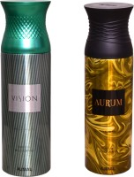 AJMAL 1 VISION::1 AURUM Deodorant Spray  -  For Women (400 Ml)