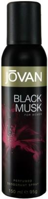 Buy Jovan Black Musk Deodorant Spray  -  150 ml: Deodorant