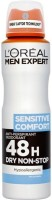 Loreal Paris Sensitive Comfort Deodorant Spray  -  For Men (250 Ml)