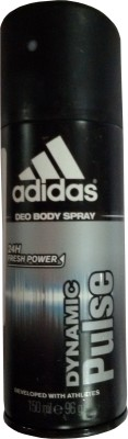 Buy Adidas Dynamic Pulse Deodorant Spray  -  150 ml: Deodorant