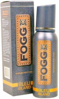 Fogg Bleu Island Long Lasting Deodorant Body Spray  -  For Men (120 Ml)