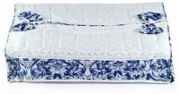 Po'uch-up 1 Compartments Cotton Tissue Box Holder (Blue)