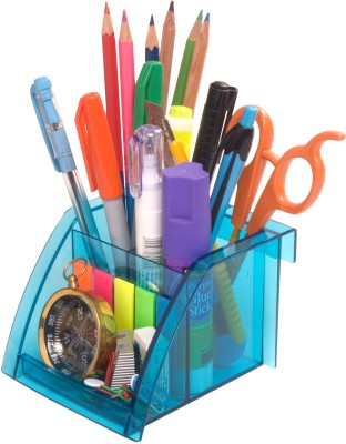Buy Solo 3 Compartments Resin Pen Stand: Desk Organizer