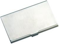 Shree Ji Enterprises 1 Compartments Alloy, Stanless Steel Card Holder (SILVER)