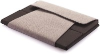 Xindao 9 To 10 4 Compartments Cloth, Board Tablet Portfolio (Grey, Black)