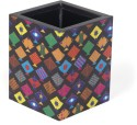 Mad(e) In India Kites 1 Compartments Medium-density Fibreboard (MDF) Pen Stand - Multicolor