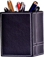 Borse 1 Compartments ARTIFICIAL LEATHER PEN HOLDER (black)