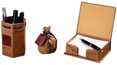Buy Leather Talks Leather Desk Organiser: Desk Organizer