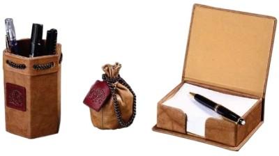 Buy Leather Talks Leather Desk Organiser: Desk Organizer