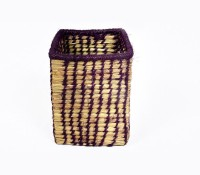 MayurShilpa 1 Compartments Sabai Grass, Thread Pen Stand (Multicolor)