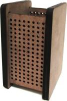 Thomson Press 1 Compartments Board Pencil Holder (Brown)