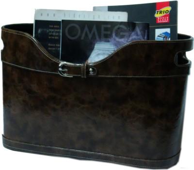 Essart MR-002 1 Compartments Hard Board Magazine Holder - Brown