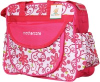 Ole Baby Attractive Applique Multipurpose,Amazing Printed Smart Organizer Best Material, Multi-function,Waterproof And Washable Diaper Bag (Pink)