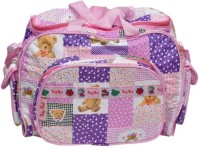 Baby`S World Purple Colored Outing Mama Baby Baby Care Diaper Bag (Purple)