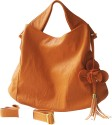 My Milestones Flora Hobo Diaper Bag - Orange - Orange