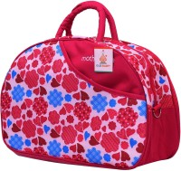 Ole Baby Attractive Applique Multipurpose,Amazing Printed Smart Organizer Best Material, Multi-function,Waterproof And Washable Diaper Bag (Red)