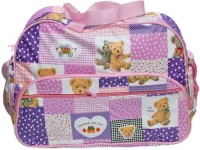 Baby`S World Bright Purple Colored Baby Bag Baby Diaper Bag (Purple)