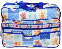 Baby`S World Big Size Blue Colored Baby Bag Baby Care Bag (Blue)