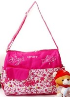 Baby Bucket Carters Baby Floral Print Mummy Diaper Bag Purse (Pink)