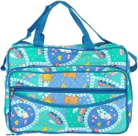 A Baby Multi Utility Nursery Messenger Diaper Bag (Blue) - DBGE4C5M574NEQYG