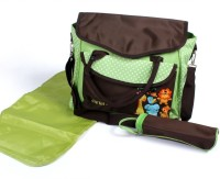 Baby Bucket Carters Backpack Diaper Bag (Brown, Green)